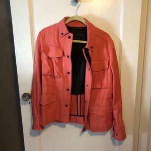 Rag & Bone coral utility jacket
